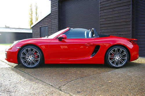 2015 Porsche 981 Boxster S 3.4 PDK Convertible (26000 miles) SOLD (picture 1 of 6)