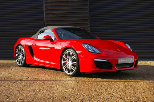 2015 Porsche 981 Boxster S 3.4 PDK Convertible (26000 miles) SOLD (picture 2 of 6)