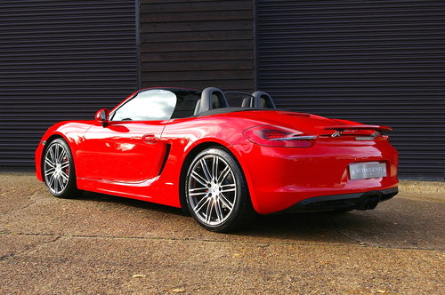 2015 Porsche 981 Boxster S 3.4 PDK Convertible (26000 miles) SOLD (picture 3 of 6)