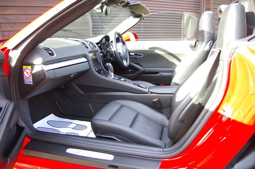2015 Porsche 981 Boxster S 3.4 PDK Convertible (26000 miles) SOLD (picture 4 of 6)