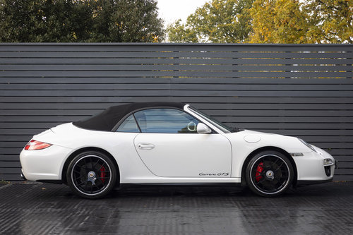 2011 PORSCHE 997 GTS 3.8 CABRIOLET MANUAL For Sale (picture 3 of 6)