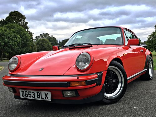1987 Porsche 911 Carrera 3.2 Manual RHD Coupe - G50 - 88k SOLD (picture 1 of 6)