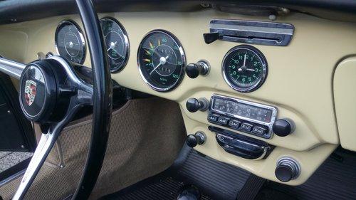 1965 Champagne Yellow 356C Cabrio For Sale (picture 6 of 6)