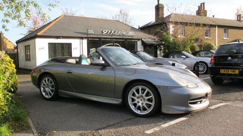 2001 Porsche 911 (996) Carrera 3.4 Convertible Manual 6 Speed For Sale (picture 1 of 6)