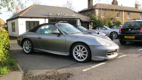 2001 Porsche 911 (996) Carrera 3.4 Convertible Manual 6 Speed For Sale (picture 2 of 6)