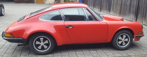 1971 Rare 911 Coupe 2.2 T LHD in storage for 33 years For Sale (picture 2 of 6)