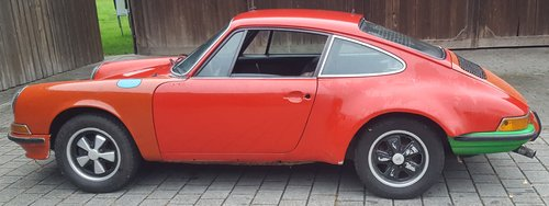 1971 Rare 911 Coupe 2.2 T LHD in storage for 33 years For Sale (picture 3 of 6)