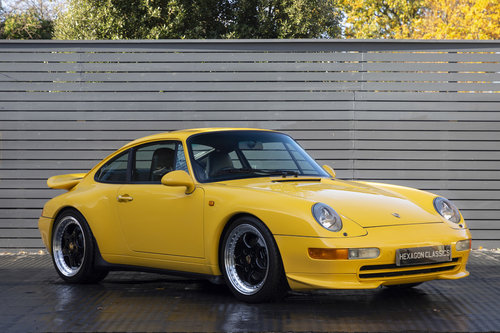 1994 PORSCHE 911 (993) CARRERA 2 ONLY 24,600 MILES SOLD (picture 1 of 6)