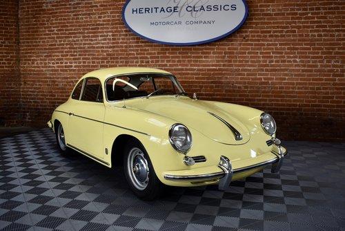 1960 Porsche 356 B T-5 Super Coupe SOLD (picture 1 of 6)