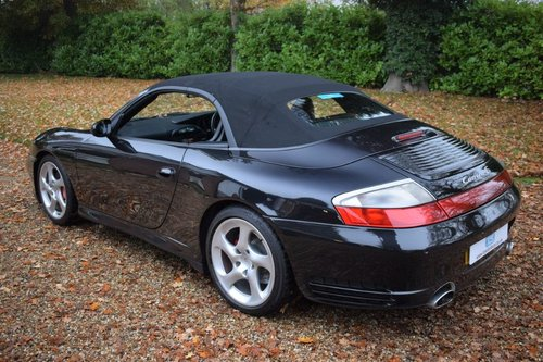 2004 Porsche 911 (996) C4S Cabriolet Tiptronic-S FSH For Sale (picture 2 of 6)