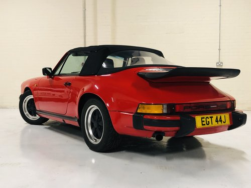 1970 PORSCHE 911 CONVERTIBLE - GUARDS RED 3.2 - SUPER VALUE SOLD (picture 2 of 6)