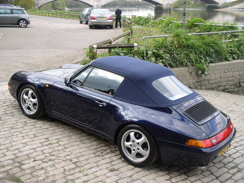 1997 Porsche 911 (993) Carrera 2 (Varioram) Cabriolet  For Sale (picture 6 of 6)