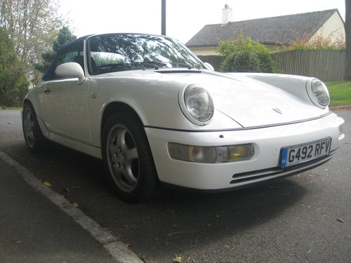 1990 PORSCHE 911 964 CARRERA 2 CABRIOLET RHD For Sale (picture 2 of 6)