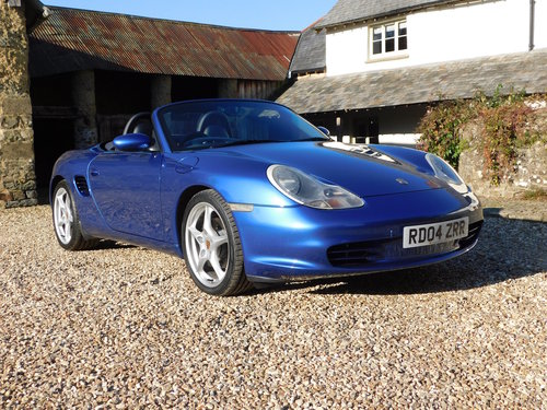 2004 Porsche Boxster 2.7 - facelift, 40k, full Porsche history SOLD (picture 1 of 6)
