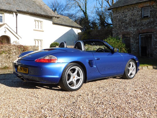 2004 Porsche Boxster 2.7 - facelift, 40k, full Porsche history SOLD (picture 2 of 6)