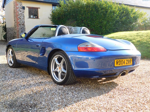 2004 Porsche Boxster 2.7 - facelift, 40k, full Porsche history For Sale (picture 3 of 6)