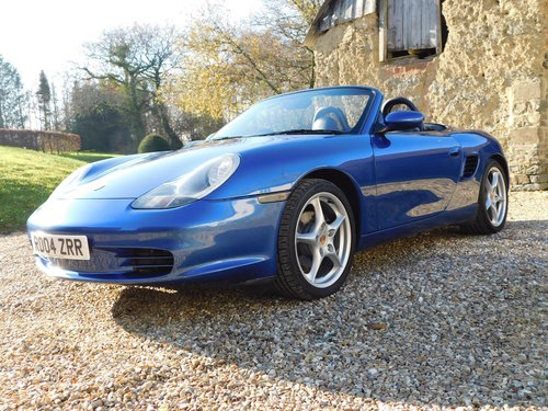 2004 Porsche Boxster 2.7 - facelift, 40k, full Porsche history SOLD (picture 4 of 6)
