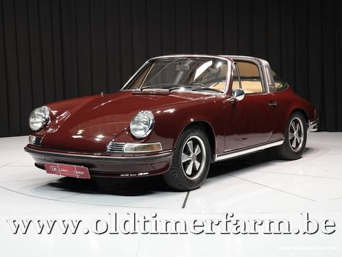 1971 Porsche 911 2.2T Targa Burgundy '71 For Sale (picture 1 of 6)