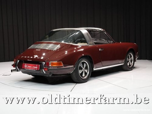 1971 Porsche 911 2.2T Targa Burgundy '71 For Sale (picture 2 of 6)