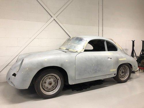 Porsche 356 B T6 1600 Super 75 Coupé 1962 complete For Sale (picture 1 of 6)
