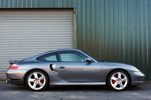 2003 Porsche 911 (996) turbo, 39k, Grey, Black Leather, High Spec For Sale (picture 2 of 6)
