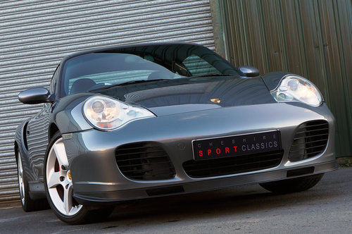 2003 Porsche 911 (996) turbo, 39k, Grey, Black Leather, High Spec For Sale (picture 3 of 6)