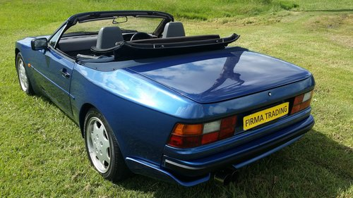 1991 Porsche 944 S2 Rare Convertible by Firma Trading For Sale (picture 2 of 6)