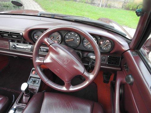 1996 Porsche 993 Carrera 4  Cabriolet  rare spec and colour For Sale (picture 3 of 6)