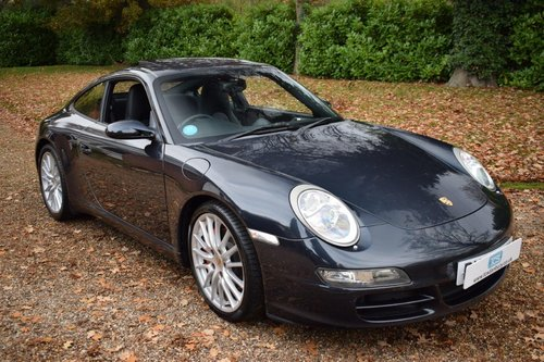 2006 Porsche 911 (997) Carrera S 3.8i WideBody 6-Speed Manual For Sale (picture 1 of 6)