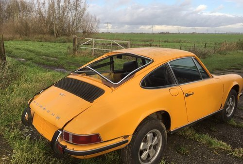 PORSCHE 911 2,4T  1972  lhd  Coupe  ROLING CHASSIS oil tap  For Sale (picture 2 of 6)