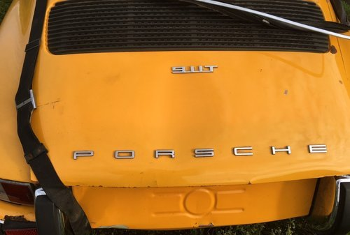 PORSCHE 911 2,4T  1972  lhd  Coupe  ROLING CHASSIS oil tap  For Sale (picture 4 of 6)