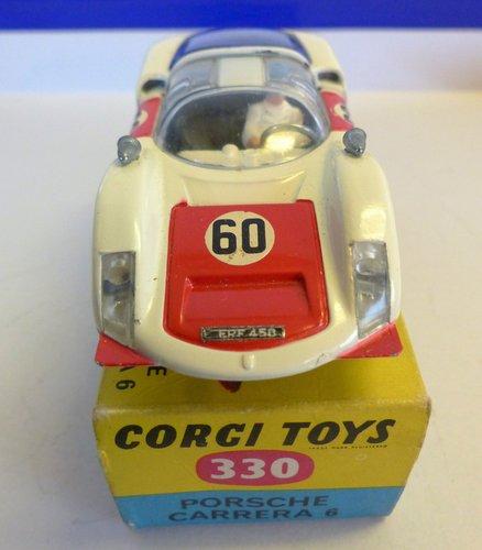 VINTAGE PORSCHE CARRERA 6 CORGI MODEL 330 BOXED For Sale (picture 3 of 6)
