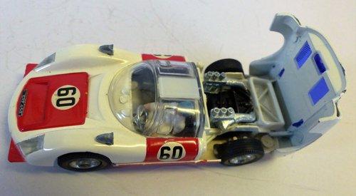 VINTAGE PORSCHE CARRERA 6 CORGI MODEL 330 BOXED For Sale (picture 5 of 6)