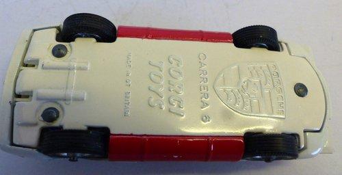 VINTAGE PORSCHE CARRERA 6 CORGI MODEL 330 BOXED For Sale (picture 6 of 6)