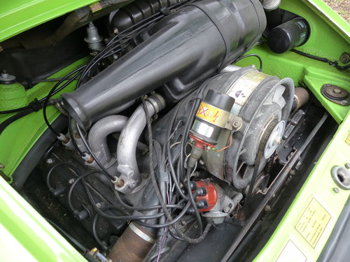 Porsche 911 2.7 Coupe LHD 1974 Lime green For Sale (picture 6 of 6)