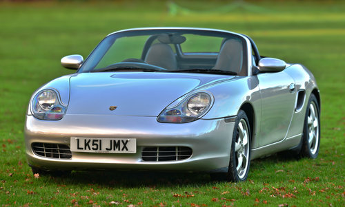 2001 Porsche Boxster 2.7 Manual For Sale (picture 1 of 6)