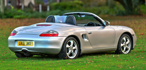 2001 Porsche Boxster 2.7 Manual For Sale (picture 3 of 6)