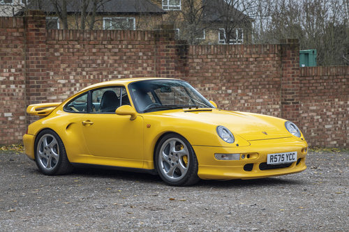 1998-PORSCHE 993 TURBO S COUPE MANUAL  For Sale (picture 1 of 6)