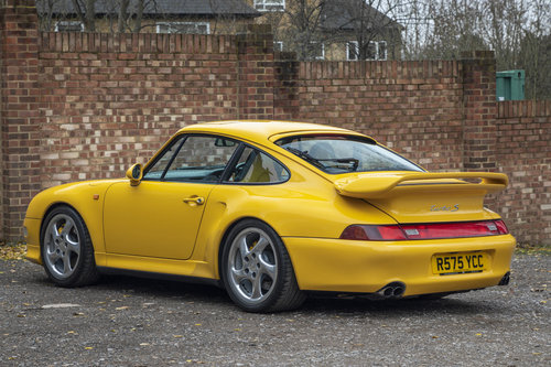 1998-PORSCHE 993 TURBO S COUPE MANUAL  For Sale (picture 3 of 6)