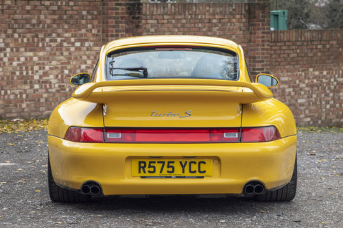 1998-PORSCHE 993 TURBO S COUPE MANUAL  For Sale (picture 4 of 6)