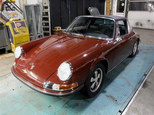 Porsche 911E Targa 1970 For Sale (picture 1 of 6)