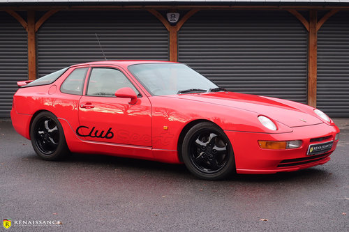 1994 Porsche 968 Clubsport - 2 owner, FSH, Rare Lux pack SOLD (picture 1 of 6)