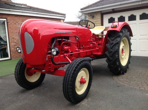 1961 TRACTOR. 329 PORSCHE  For Sale (picture 1 of 1)