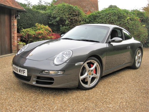 2008 Porsche 911 (997) 3.8 Carrera S With Only 24,000 Miles  For Sale (picture 2 of 6)