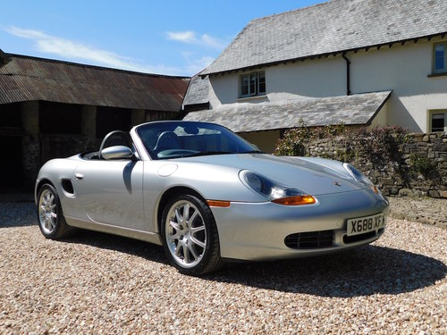 2000 Porsche 986 Boxster S - 67k, impeccable service history For Sale (picture 1 of 6)