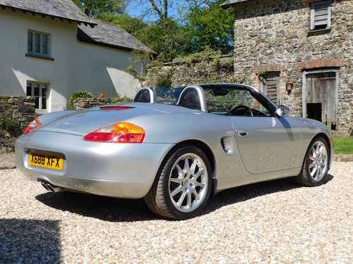 2000 Porsche 986 Boxster S - 67k, impeccable service history For Sale (picture 2 of 6)