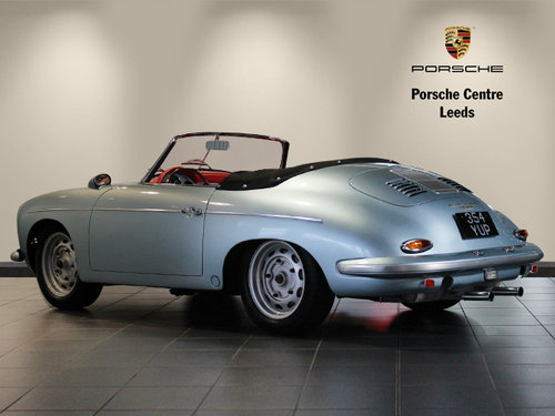 1961 Porsche 356 B Roadster Rod Emory Restoration  For Sale (picture 2 of 6)