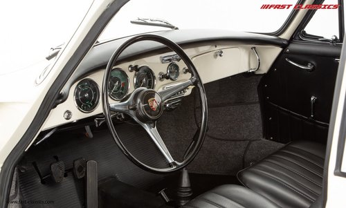 1962 PORSCHE 356B 1600S // T6 KARMANN COUPE // NUT AND BOLT REST For Sale (picture 4 of 6)