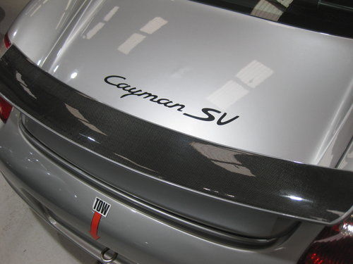 2006 Porsche Cayman SV road/track car For Sale (picture 4 of 6)