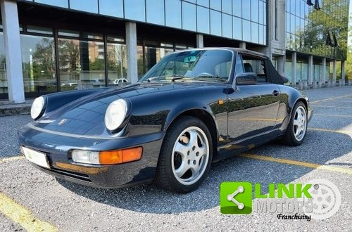 1990 Porsche 911 Cabrio Carrera 2 Tiptronic (964) For Sale (picture 1 of 6)